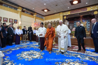 14-Apostolic Journey to Myanmar: Meeting with the Supreme