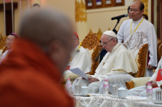 16-Apostolic Journey to Myanmar: Meeting with the Supreme