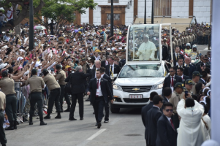 2-Apostolic Journey to Peru: Marian Celebration – Virgen de la Puerta