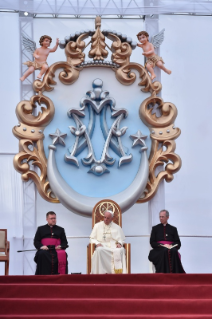 1-Apostolic Journey to Peru: Marian Celebration – Virgen de la Puerta