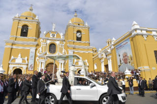 7-Apostolic Journey to Peru: Marian Celebration – Virgen de la Puerta