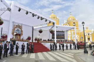 5-Apostolic Journey to Peru: Marian Celebration – Virgen de la Puerta
