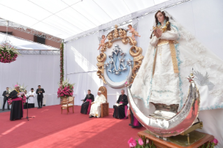 9-Apostolic Journey to Peru: Marian Celebration – Virgen de la Puerta
