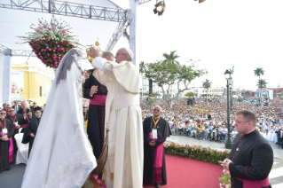 14-Apostolic Journey to Peru: Marian Celebration – Virgen de la Puerta