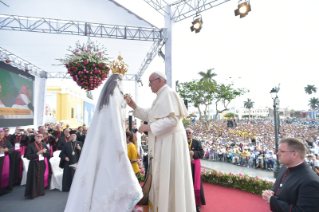 12-Apostolic Journey to Peru: Marian Celebration – Virgen de la Puerta