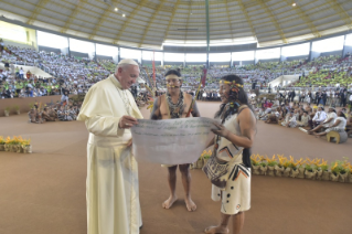 10-Apostolic Journey to Peru: Meeting with indigenous people of the Amazon Region