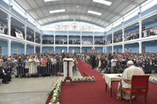 3-Apostolic Journey to Peru: Meeting with the Priests, Religious Men and Women and Seminarians of the Ecclesiastical Provinces of Northern Peru