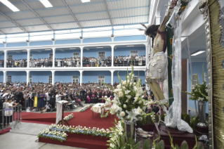 11-Apostolic Journey to Peru: Meeting with the Priests, Religious Men and Women and Seminarians of the Ecclesiastical Provinces of Northern Peru