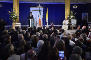 3-Apostolic Visit to Ireland: Meeting with Authorities, Civil Society and Diplomatic Corps