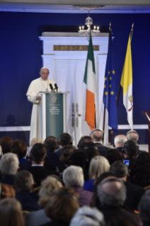 4-Apostolic Visit to Ireland: Meeting with Authorities, Civil Society and Diplomatic Corps