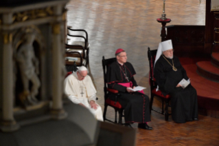 0-Apostolic Journey to Latvia: Ecumenical prayer