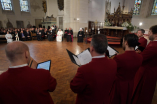 6-Apostolic Journey to Latvia: Ecumenical prayer