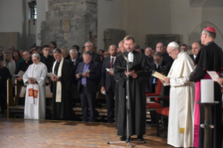 7-Apostolic Journey to Latvia: Ecumenical prayer