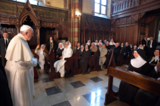 10-Apostolic Journey to Lithuania: Meeting with Priests, Men and Women Religious, Consecrated Persons and Seminarians
