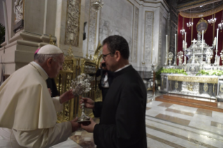 2-Pastoral visit to the diocese of Palermo: Meeting with the clergy, religious and seminarians