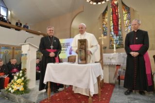 5-Apostolic Journey to North Macedonia: Meeting with Priests, their Families and Religious