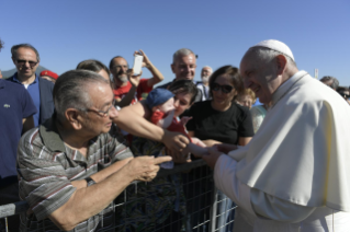 5-Visit of the Holy Father to the earthquake-affected areas of the diocese of Camerino-San Severino Marche