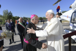 4-Visit of the Holy Father to the earthquake-affected areas of the diocese of Camerino-San Severino Marche
