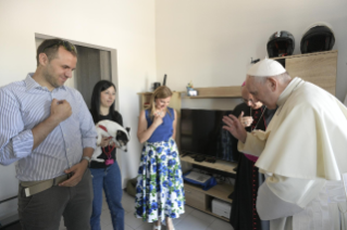9-Visit of the Holy Father to the earthquake-affected areas of the diocese of Camerino-San Severino Marche
