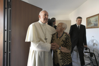 10-Visit of the Holy Father to the earthquake-affected areas of the diocese of Camerino-San Severino Marche