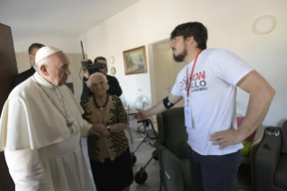 11-Visit of the Holy Father to the earthquake-affected areas of the diocese of Camerino-San Severino Marche