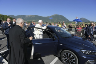 15-Visit of the Holy Father to the earthquake-affected areas of the diocese of Camerino-San Severino Marche