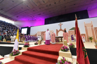 1-Apostolic Journey to Morocco: Holy Mass