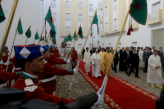 6-Apostolic Journey to Morocco: Visit to the Mohammed VI Institute for the Training of Imams, Morchidines and Morchidates