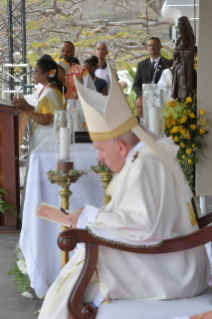 9-Apostolic Journey to Mauritius: Holy Mass