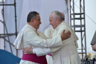 3-Apostolic Journey to Panama: Welcome ceremony and opening of WYD at Campo Santa Maria la Antigua – Cinta Costera