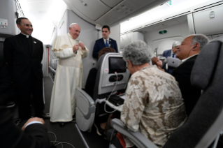 1-Apostolic Journey to Panama: Press Conference on the return flight from Panama to Rome