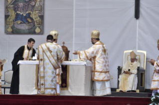 16-Apostolic Journey to Romania: Divine Liturgy with the Beatification of 7 Greek-Catholic Martyr bishops