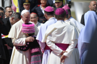 2-Apostolic Journey of the Holy Father to Thailand: Official welcome