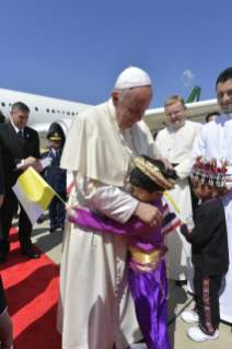 6-Apostolic Journey of the Holy Father to Thailand: Official welcome