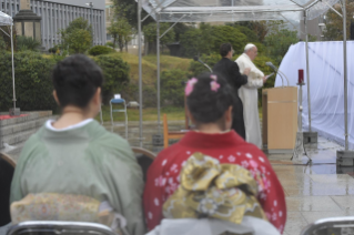4-Apostolic Journey to Japan: Message on nuclear weapons