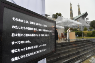 5-Apostolic Journey to Japan: Message on nuclear weapons