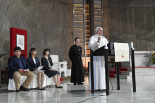 18-Apostolic Journey to Japan: Meeting with Young People