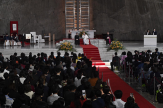 17-Apostolic Journey to Japan: Meeting with Young People