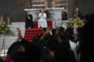 13-Apostolic Journey to Japan: Meeting with Young People