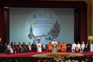 1-Apostolic Journey to Thailand: Meeting with the Leaders of the Christian denominations and Other Religions