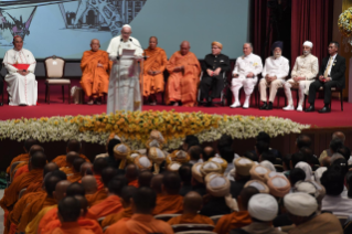 2-Apostolic Journey to Thailand: Meeting with the Leaders of the Christian denominations and Other Religions