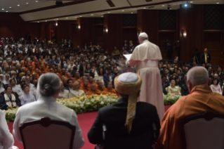 3-Apostolic Journey to Thailand: Meeting with the Leaders of the Christian denominations and Other Religions
