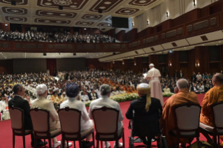 10-Apostolic Journey to Thailand: Meeting with the Leaders of the Christian denominations and Other Religions