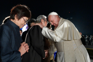 1-Apostolic Journey to Japan: Meeting for peace