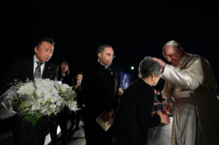 4-Apostolic Journey to Japan: Meeting for peace