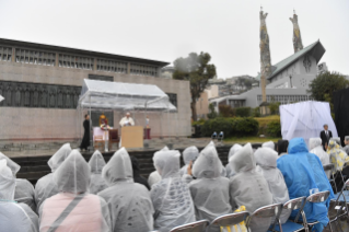 1-Apostolic Journey to Japan: Tribute to the Martyr Saints