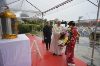 5-Apostolic Journey to Japan: Tribute to the Martyr Saints