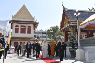 0-Apostolic Journey to Thailand: Visit to the Supreme Buddhist Patriarch