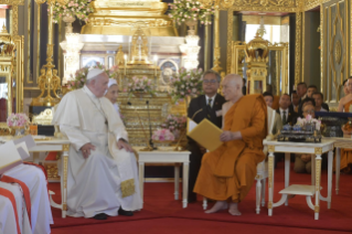 3-Apostolic Journey to Thailand: Visit to the Supreme Buddhist Patriarch