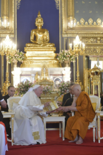 7-Apostolic Journey to Thailand: Visit to the Supreme Buddhist Patriarch